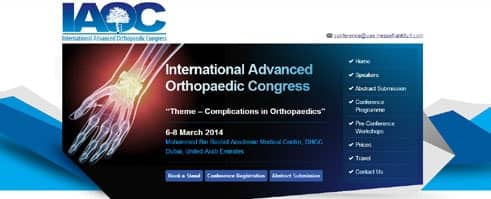 International Advanced Orthopaedic Congress